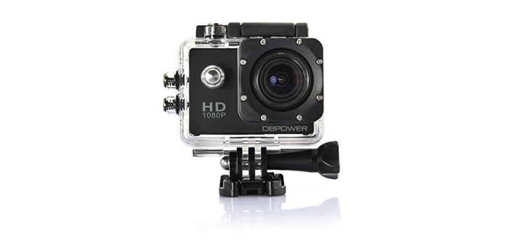 DBPOWER Waterproof Action Camera