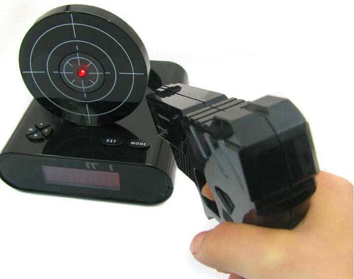 Lock-N-Load Clock