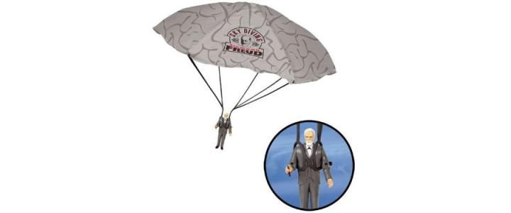 Sky Diving Sigmund Freud Action Figure
