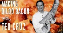 Machine Gun Bacon Ted Cruz