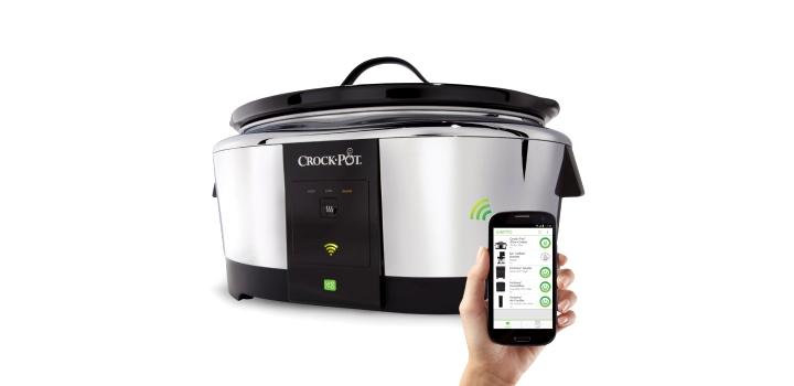 Crock-Pot Smart Wifi-Enabled WeMo 6-Quart Slow Cooker