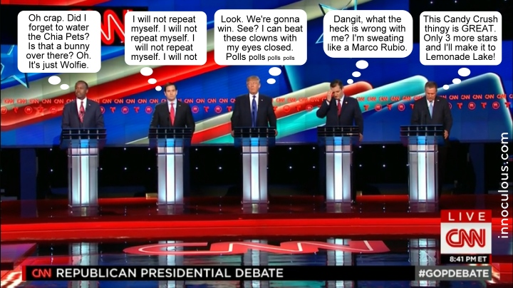 CNN Texas GOP debate