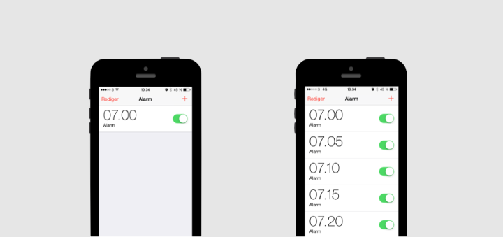 Two kinds of people alarm