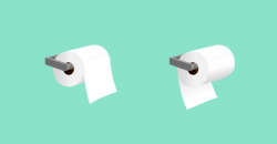 Two kinds of people toilet paper