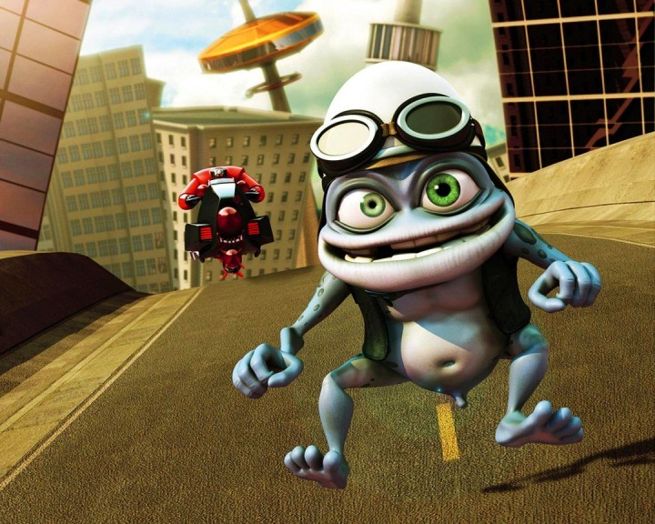 What is Crazy Frog riding? The existing success of the song Axel F, of course!