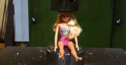 Barbie is feeling the pressure. Watch below to find out what happens.