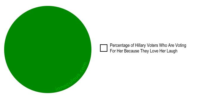 Hillary Voter Pie Chart