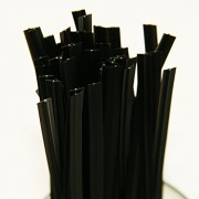 500pcs-5-Plastic-Black-Twist-Ties-0-1