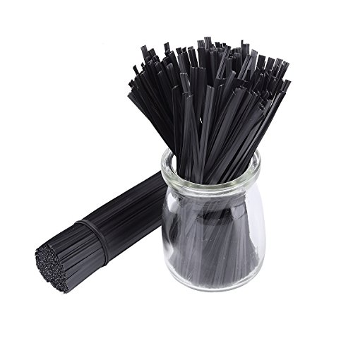 500pcs-5-Plastic-Black-Twist-Ties-0