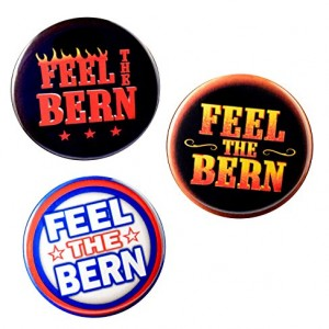 Bernie-Sanders-Feel-The-Bern-Variety-Pack-pinback-buttons-225-In-0