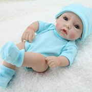 Cute-Little-Boy-Baby-Doll-10inch-Handmade-Full-Viny-Doll-With-Romper-0-0