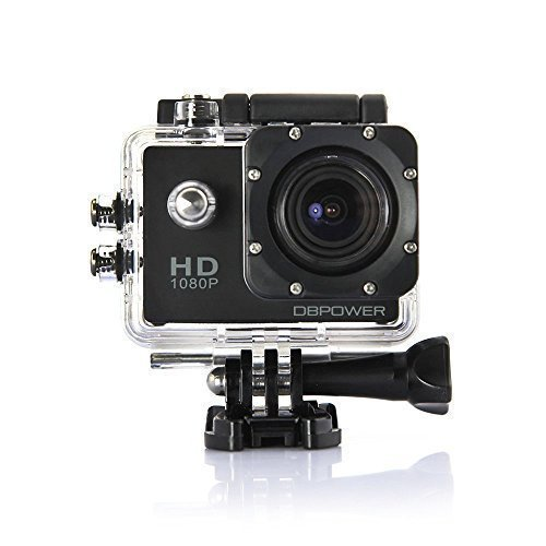 DBPOWER-Waterproof-Action-Camera-12MP-1080P-HD-with-2-Batteries-and-Free-Accessories-Kit-Black-0