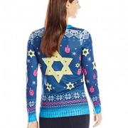 Faux-Real-Womens-Chai-Maintenance-Hanukkah-Sweater-Long-Sleeve-T-Shirt-Multi-XX-Large-0-0