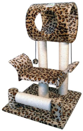 Go-Pet-Club-Cat-Tree-Condo-House-18W-x-175L-x-28H-Inches-Leopard-0