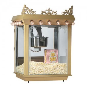 Gold-Medal-Antique-Citation-Popcorn-Machine-16-Oz-Unimaxx-Kettle-Etched-Glass-2119-0