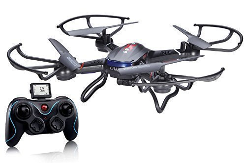 Holy-Stone-F181-RC-Quadcopter-Drone-with-HD-Camera-RTF-4-Channel-24GHz-6-Gyro-Headless-System-Black-0