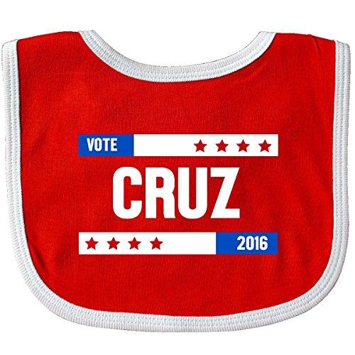 Inktastic-Baby-Boys-Vote-Cruz-2016-Baby-Bib-RedWhite-0