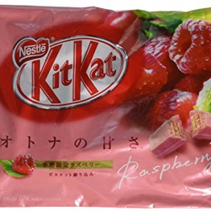 Japanese-Kit-Kat-Raspberry-Flavor-12-Mini-Bars-in-Bag-Net-Wt-1356g-0