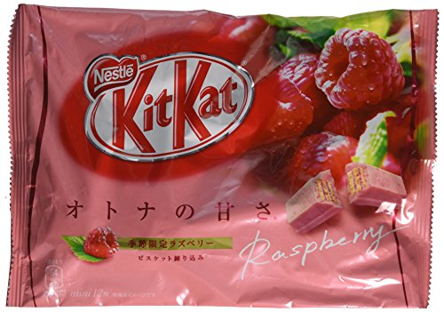 Japanese-Kit-Kat-Raspberry-Flavor-12-Mini-Bars-in-Bag-Net-Wt-1356g-0