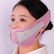 KOLIGHTAnti-Wrinkle-Half-Face-Slimming-Cheek-Mask-Lift-V-Face-Line-Slim-up-Belt-StrapPink-0-2