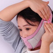 KOLIGHTAnti-Wrinkle-Half-Face-Slimming-Cheek-Mask-Lift-V-Face-Line-Slim-up-Belt-StrapPink-0-4