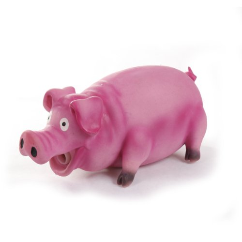 Knight-Pet-Pig-Latex-Toy-with-Real-Squeak-Pink-0