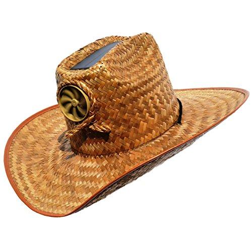 cdd4eea8d14 Kool Breeze Solar Hat Male Palm Leaf Cowboy Hat w o band ...
