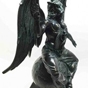 Large-15H-Church-of-Satan-Baphomet-Sabbatic-Goat-Idol-Satanic-Occultic-Statue-0-0