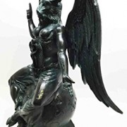 Large-15H-Church-of-Satan-Baphomet-Sabbatic-Goat-Idol-Satanic-Occultic-Statue-0-1