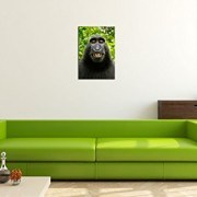 MONKEY-SELFIE-Premium-Canvas-Art-Print-16×24-inch-Large-Animal-Wall-Art-Deco-Canvas-Picture-Stretched-on-Wooden-Frame-as-Modern-Gallery-Artwork-e6625-0-1