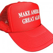 Make-America-Great-Again-Trump-2016-Unisex-adult-Adjustable-Hat-Red-0-1