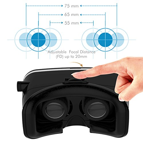 Motoraux 3rd Vr Virtual Reality Headset Google Version 3d Glasses Diy Video Movie Game Glasses For Iphone 6 Iphone6 Plus Samsung Lg Sony Htc Xiaomi