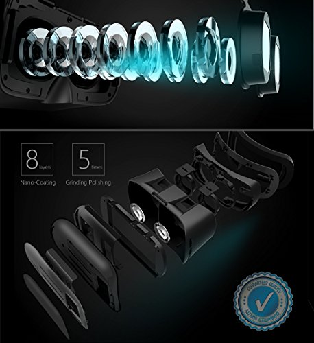 0e74dcf2f11 Motoraux 3rd Vr Virtual Reality Headset Google Version 3D Glasses ...