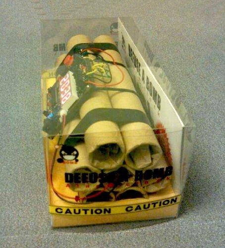 Novelty Defusable Bomb Alarm Clock Bomb Like Alarm Clock