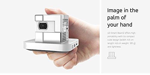 Sk Uo 1 8 Quot Cube Ultra Mini Small Pico Projector Smart Beam