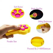 SOOKOO-Pack-of-2-Paw-Style-Cat-Catch-the-Interactive-LED-Light-Pointer-Exercise-Chaser-Toy-Pet-Scratching-Training-Tool-0-0