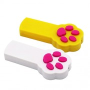 SOOKOO-Pack-of-2-Paw-Style-Cat-Catch-the-Interactive-LED-Light-Pointer-Exercise-Chaser-Toy-Pet-Scratching-Training-Tool-0-3