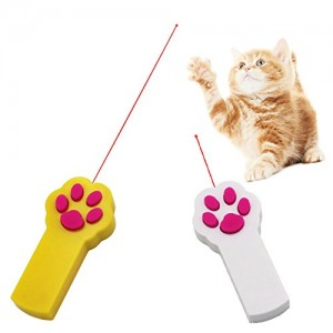 SOOKOO-Pack-of-2-Paw-Style-Cat-Catch-the-Interactive-LED-Light-Pointer-Exercise-Chaser-Toy-Pet-Scratching-Training-Tool-0