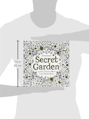 Secret Garden An Inky Treasure Hunt And Coloring