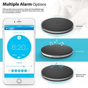 SmartShaker-by-iLuv-Wireless-App-Controlled-Bluetooth-Bed-Alarm-Shaker-ideal-for-Heavy-Sleepers-People-with-Hearing-Loss-for-Apple-iPhone-Samsung-GALAXY-and-other-Bluetooth-Devices-Black-0-1