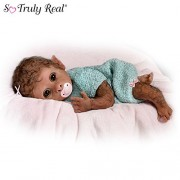 So-Truly-Real-Weighted-And-Fully-Poseable-Baby-Monkey-Doll-By-Linda-Murray-by-The-Ashton-Drake-Galleries-0-0