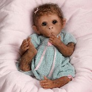 So-Truly-Real-Weighted-And-Fully-Poseable-Baby-Monkey-Doll-By-Linda-Murray-by-The-Ashton-Drake-Galleries-0-2