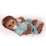 So-Truly-Real-Weighted-And-Fully-Poseable-Baby-Monkey-Doll-By-Linda-Murray-by-The-Ashton-Drake-Galleries-0-3