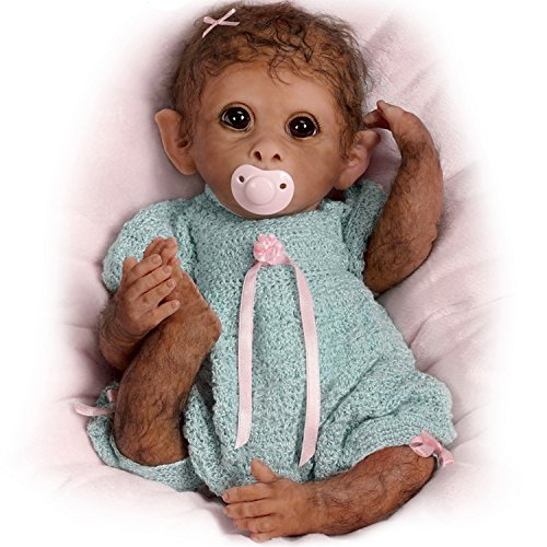 So-Truly-Real-Weighted-And-Fully-Poseable-Baby-Monkey-Doll-By-Linda-Murray-by-The-Ashton-Drake-Galleries-0