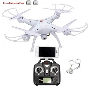 Syma-X5SW-4-Channel-Remote-Controlled-Quadcopter-with-HD-Camera-for-Real-Time-Video-Transmission-31-x-31-x-105cm-White-0