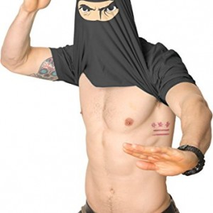 Turn-into-a-Ninja-Flip-T-Shirt-Cool-Fighter-Disguise-Funny-Shirts-0