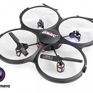 UDI-U818A-HD-24GHz-4-CH-6-AXIS-Headless-RC-Quadcopter-w-HD-Camera-Extra-Battery-and-Return-Home-Function-by-UDI-RC-0