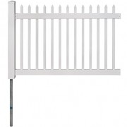 WamBam-No-Dig-Nantucket-Vinyl-Picket-Fence-with-Post-and-No-Dig-Steel-Pipe-Anchor-Kit-4-Height-by-6-Width-0-2