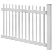 WamBam-No-Dig-Nantucket-Vinyl-Picket-Fence-with-Post-and-No-Dig-Steel-Pipe-Anchor-Kit-4-Height-by-6-Width-0-3