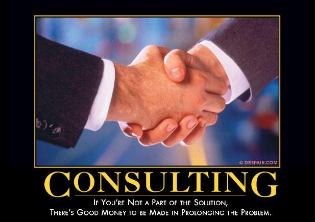 consulting demotivator